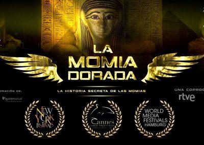 La momia dorada